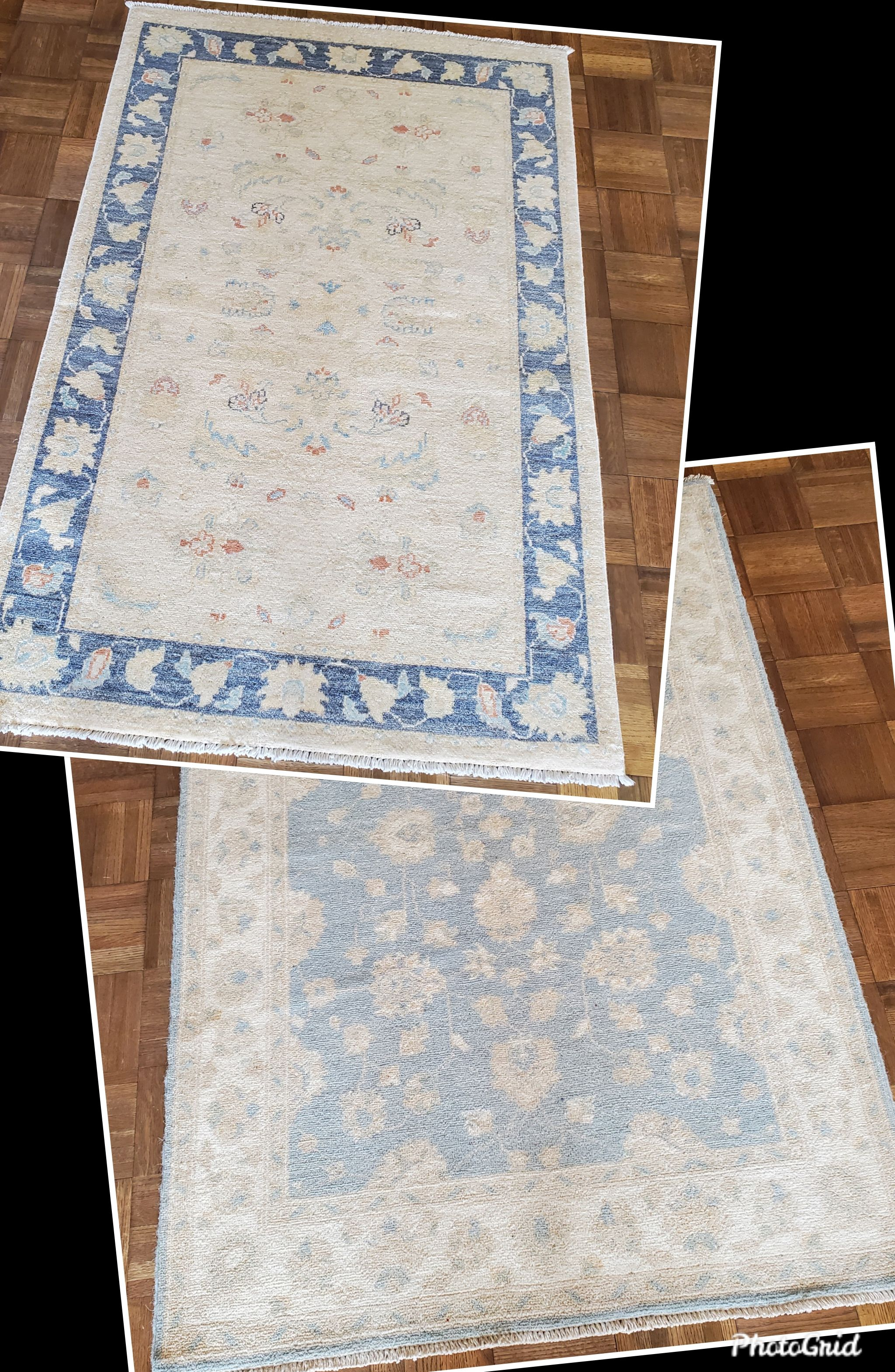 Vintage Fine Oushak 3x5 pieces!  all-natural, directly imported! $595 reduced from $1190! Grab them!  Call 205-870-4444 or drop by if it's for you!  Please share! 🙋♀️  #nilipourorientalrugs #MayDayDeal #familybusiness #since1972 #fullservice #shoplocal #happycustomer #artyoucantreadon #orientalrug #rug #arearug #naturalfibers #wholesaleprices #directimporting #affordableluxury #functionalrug #practicalrug #appeal #qualityrug #investment #conversationpiece #Lifestyle #rugcleaning #orientalrugcl