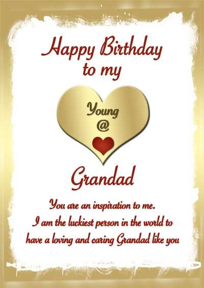 Pin On Happy Birthday Wishes For Grandfather