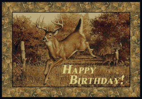 Happy Birthday Deer Jpg 500 350 Funny Happy Birthday Images Happy Birthday Hunting Deer Hunting Birthday