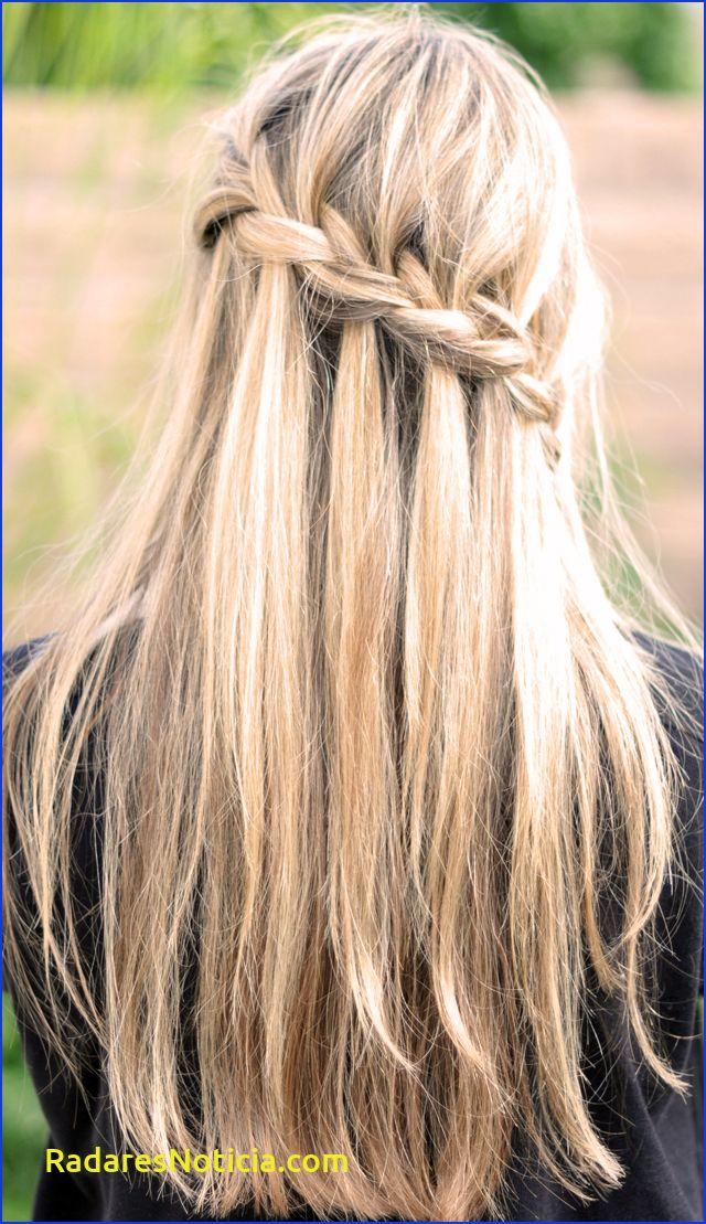 French Braid W Cascading Hair Tutorial Diy Waterfall Braid Braided Hairstyles For Teens Hair Styles Waterfall Braid Hairstyle