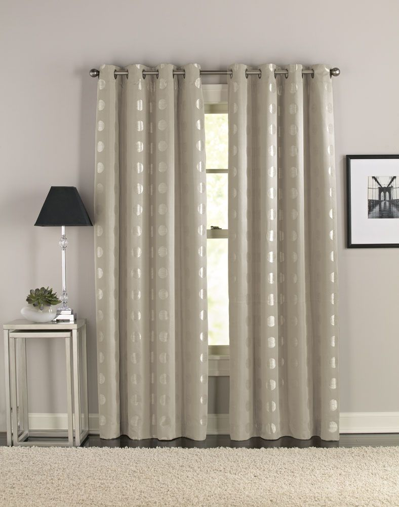 Contemporary curtains panels - Cosmic Modern Grommet Curtain Panel Curtainworks Com Great Source For Inexpensive Window Treatments