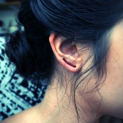 DIY ten minute earrings!