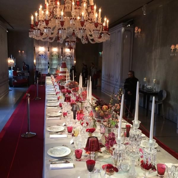 Fotos En Cristal Room Baccarat Chaillot Paris Isla De Francia With Images Paris Restaurants Luxury Dining Dining