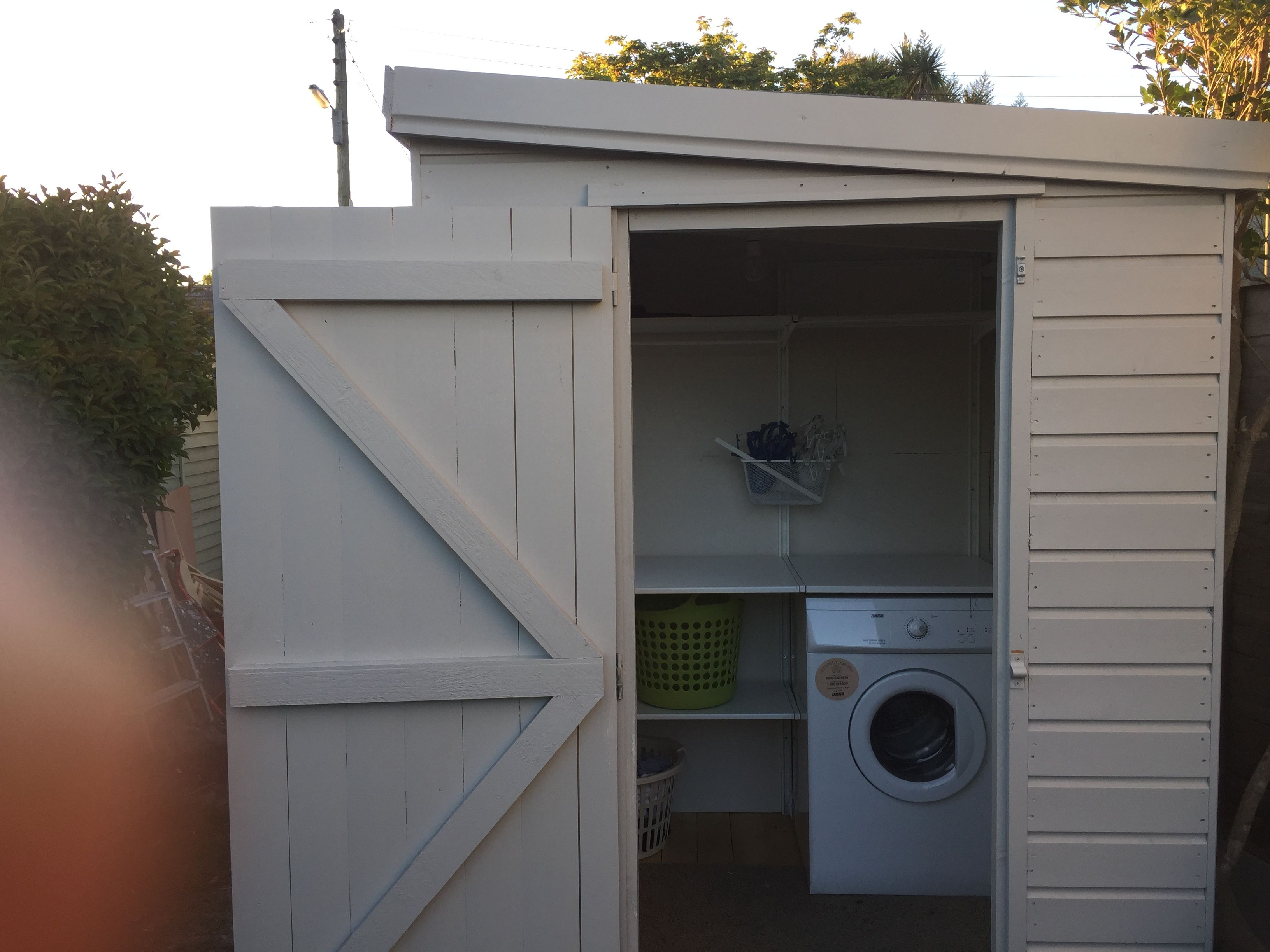 Laundry Room Shed Outdoor Rooms Outside