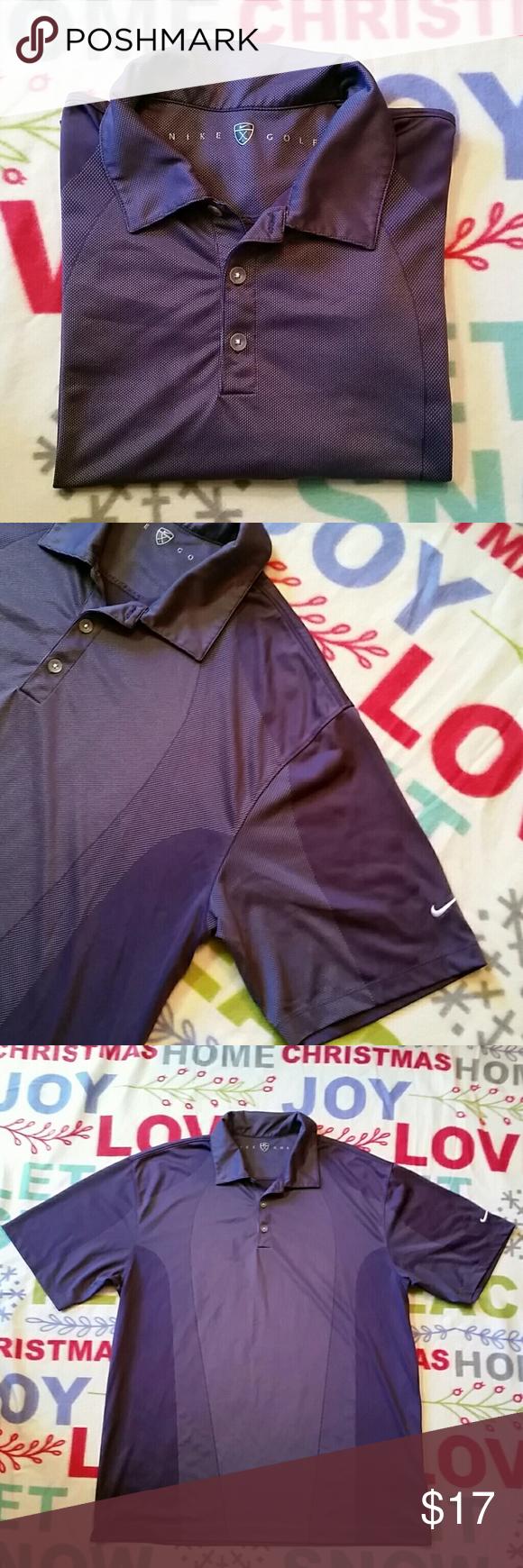 Mens Nike Golf Polo Shirt Stylish golf Shortsleeve shirt. In really good condition. Nike Golf Shirts Polos