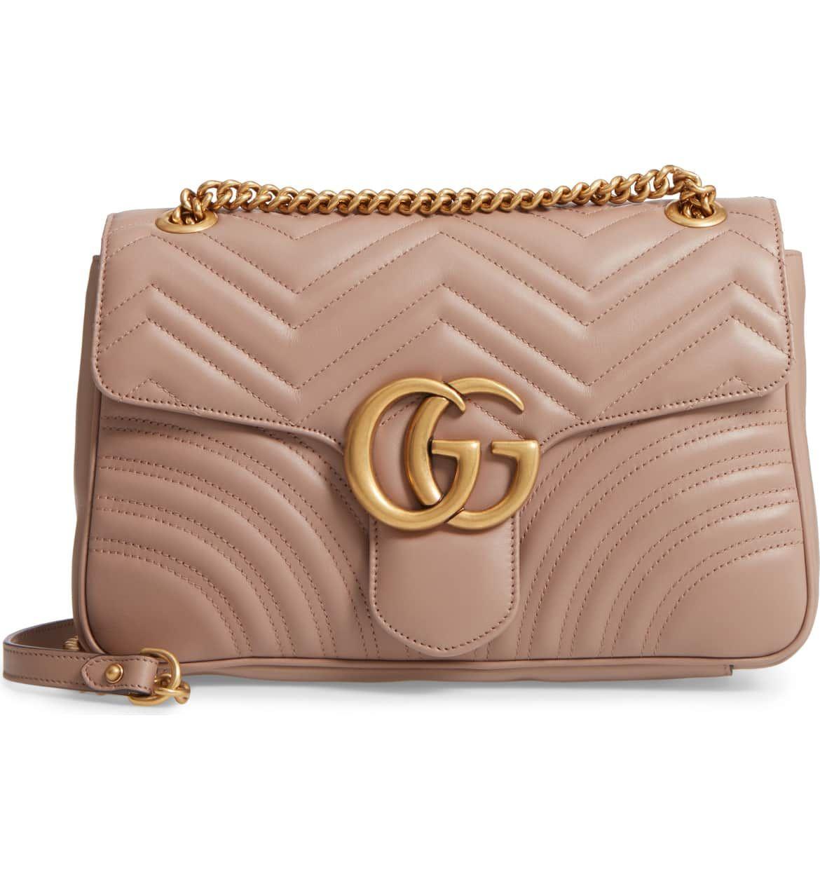 ef56d573f2c Gucci Medium GG Marmont 2.0 Matelassé Leather Shoulder Bag