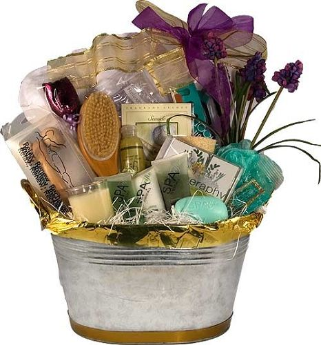 Spa+Gift+Baskets | Spa Baskets, Spa Gifts, Spa Gift Baskets, Bath ...