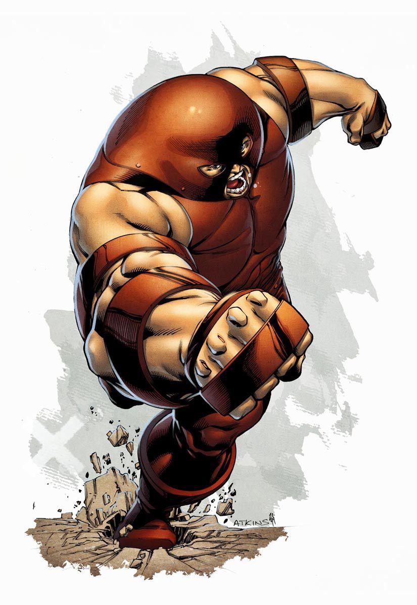 Comics Forever The Juggernaut Artwork By Roberto Q Juggernaut Marvel Marvel Villains Marvel Characters