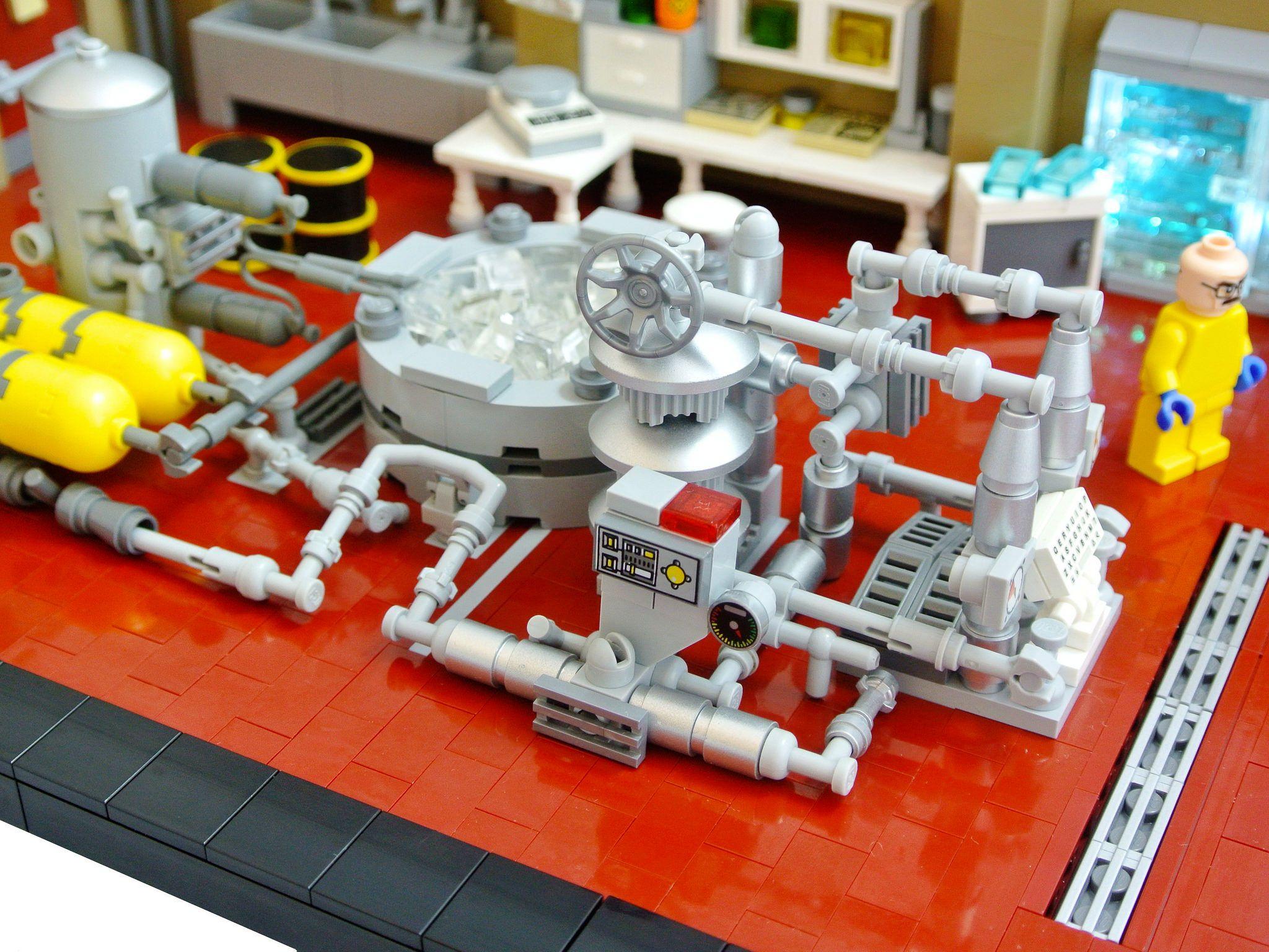 Labo Le LegoLegos Breaking En LegoWalter De D'amphet Bad ON0nw8mv