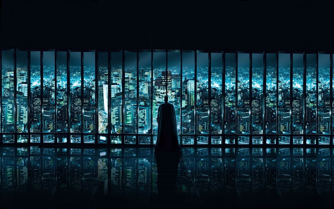 """""""Gotham City ... always brings a smile to my face"""""""