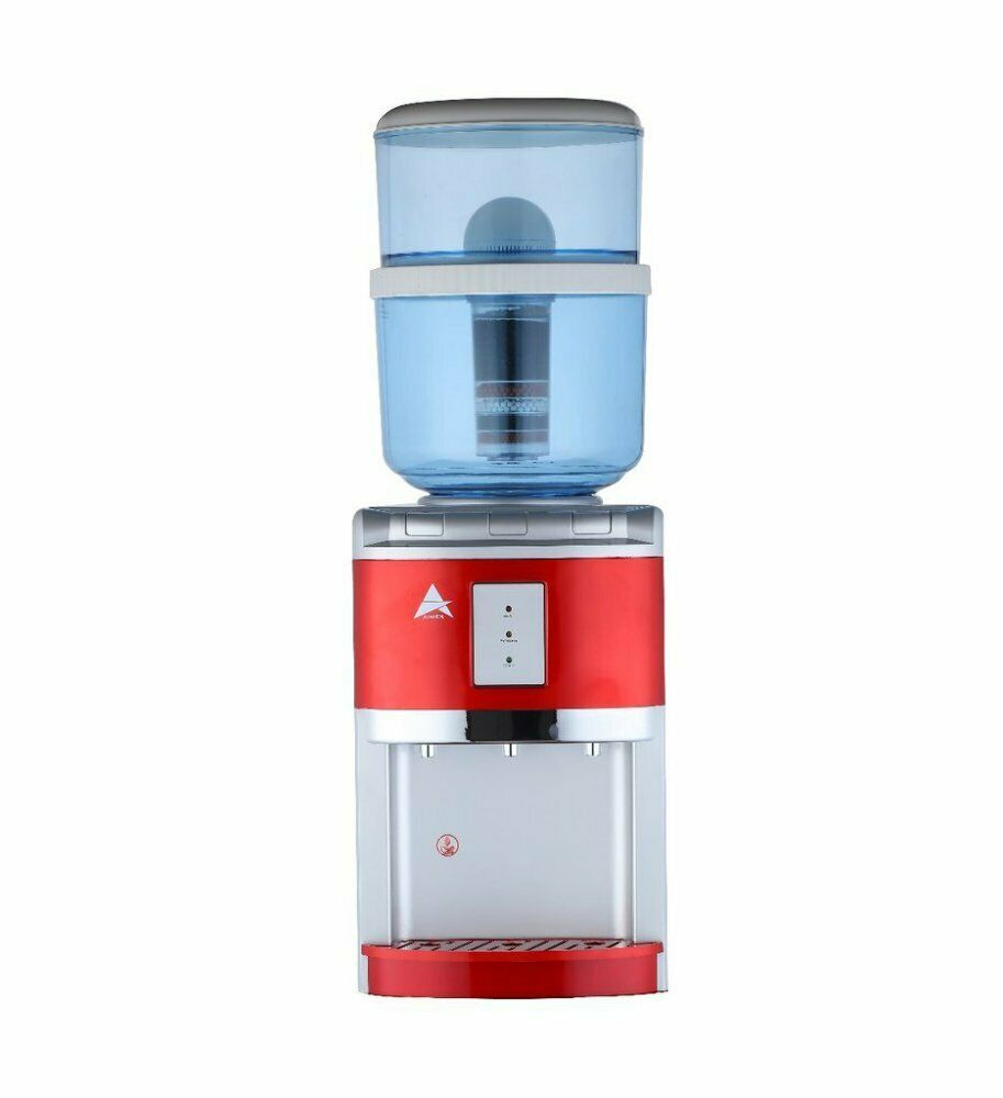 Details About New Aimex Awesome Water Benchtop Cooler Chiller Hot Cold Healthy Ultrapure Red Water Coolers Healthy Red Cold Ice