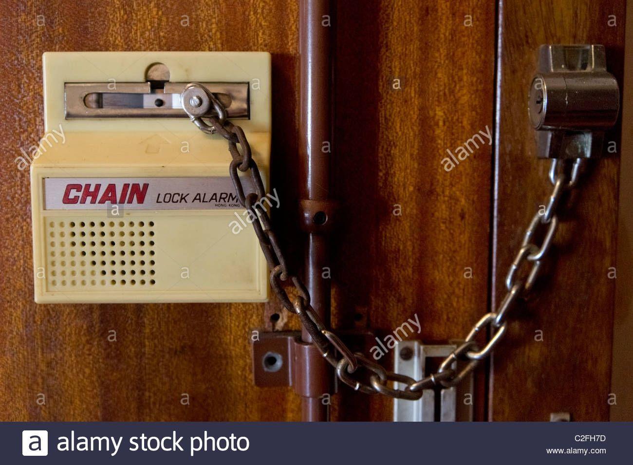 Security Door Chain With Alarm | http://franzdondi.com | Pinterest ...