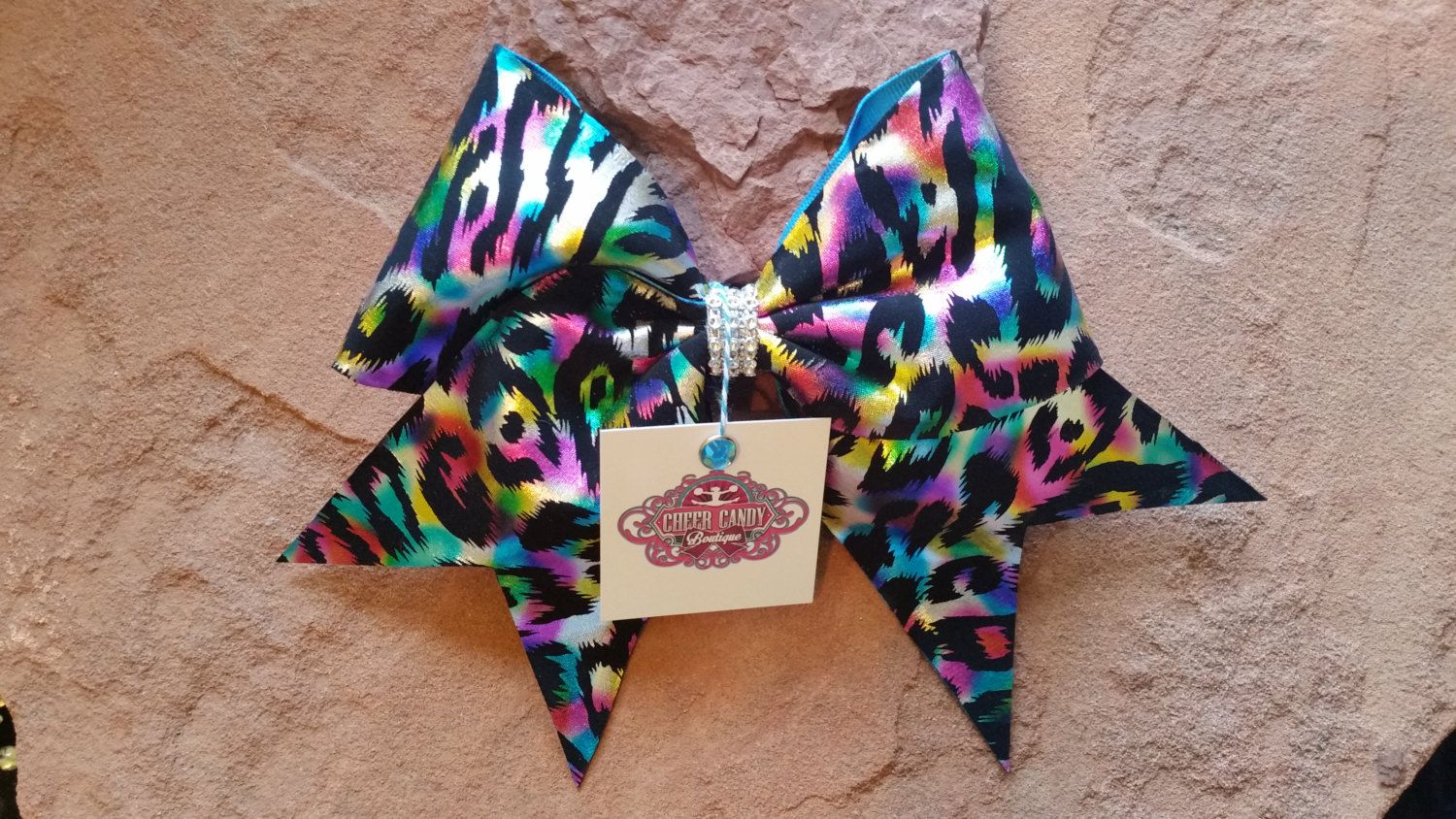 Cheer Bow by CheerCandyBoutique on Etsy