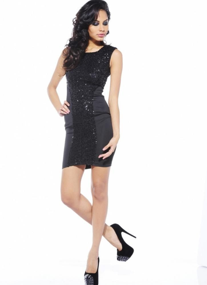 Black Cocktail Party Dresses: Sequin, Lace, Mesh More | Nordstrom ...
