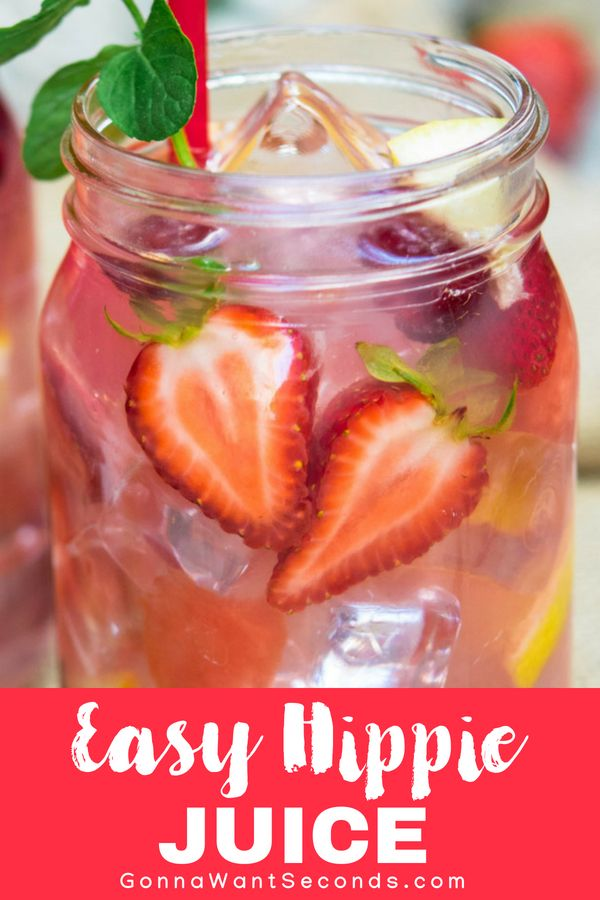 Our Hippie Juice recipe is the perfect simple easy refreshing summer drink for a party Its fruity fun Big Batch cocktail perfect to make for a crowd