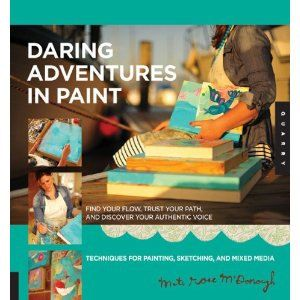 Daring Adventures In Paint by signed along with a print!