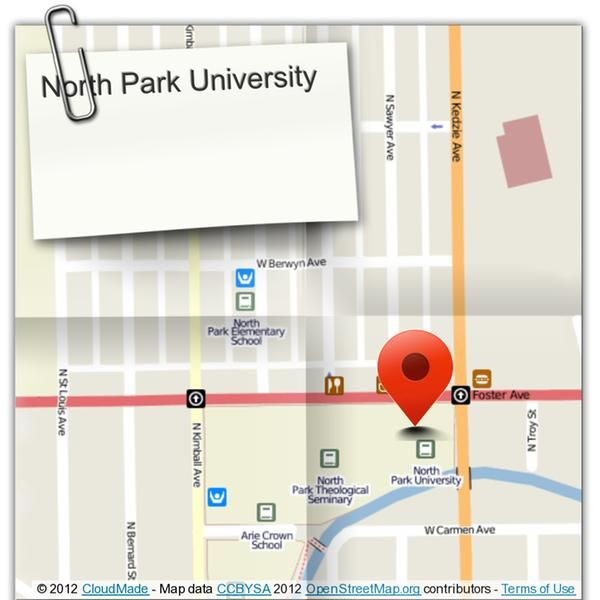 Our main campus is located at 3225 West Foster Avenue, in the Albany Park neighborhood on the North Side of Chicago. (courtesy of @Pinstamatic http://pinstamatic.com)