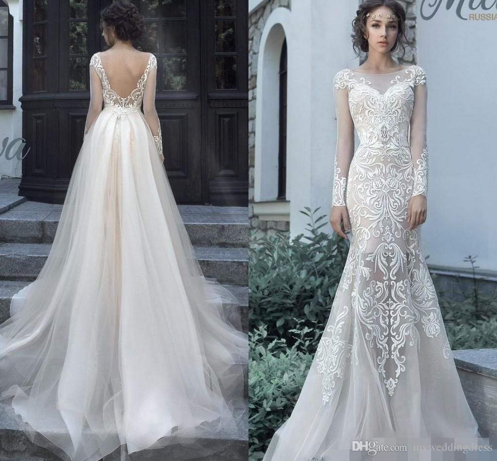 Lovely Wedding Dresses with Removable Skirts Check more at http ...