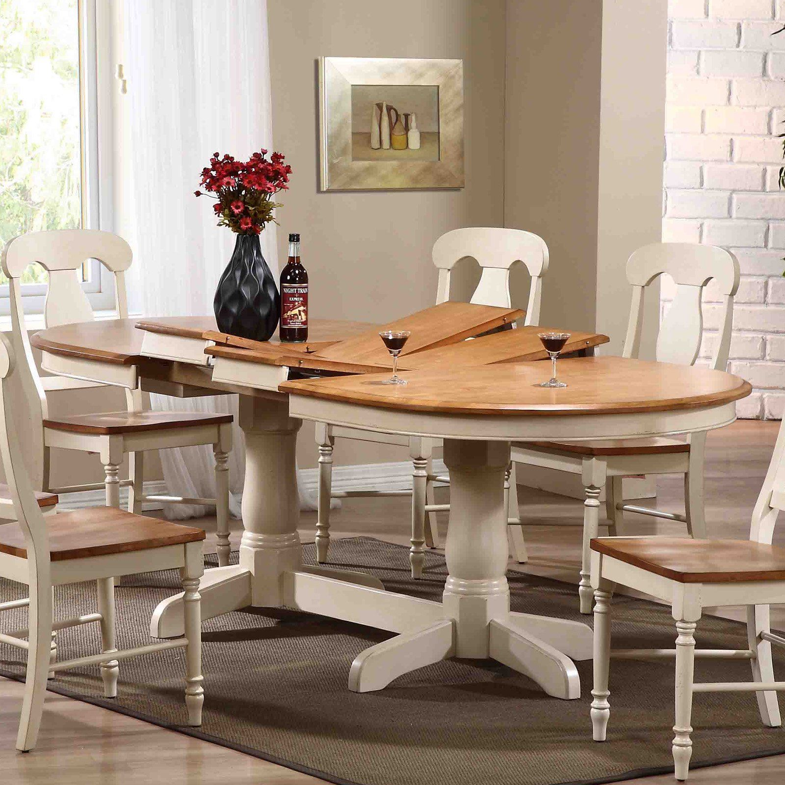 Country Kitchen Table And Chairs: Iconic Furniture Oval Pedestal Dining Table In 2019