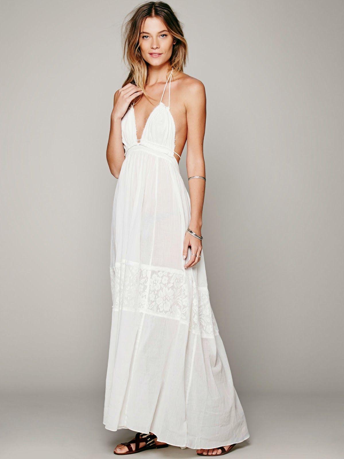 Beach wedding dress under 500  Inspirações de Croche com Any Lucy Barrado  kumaşa dantel