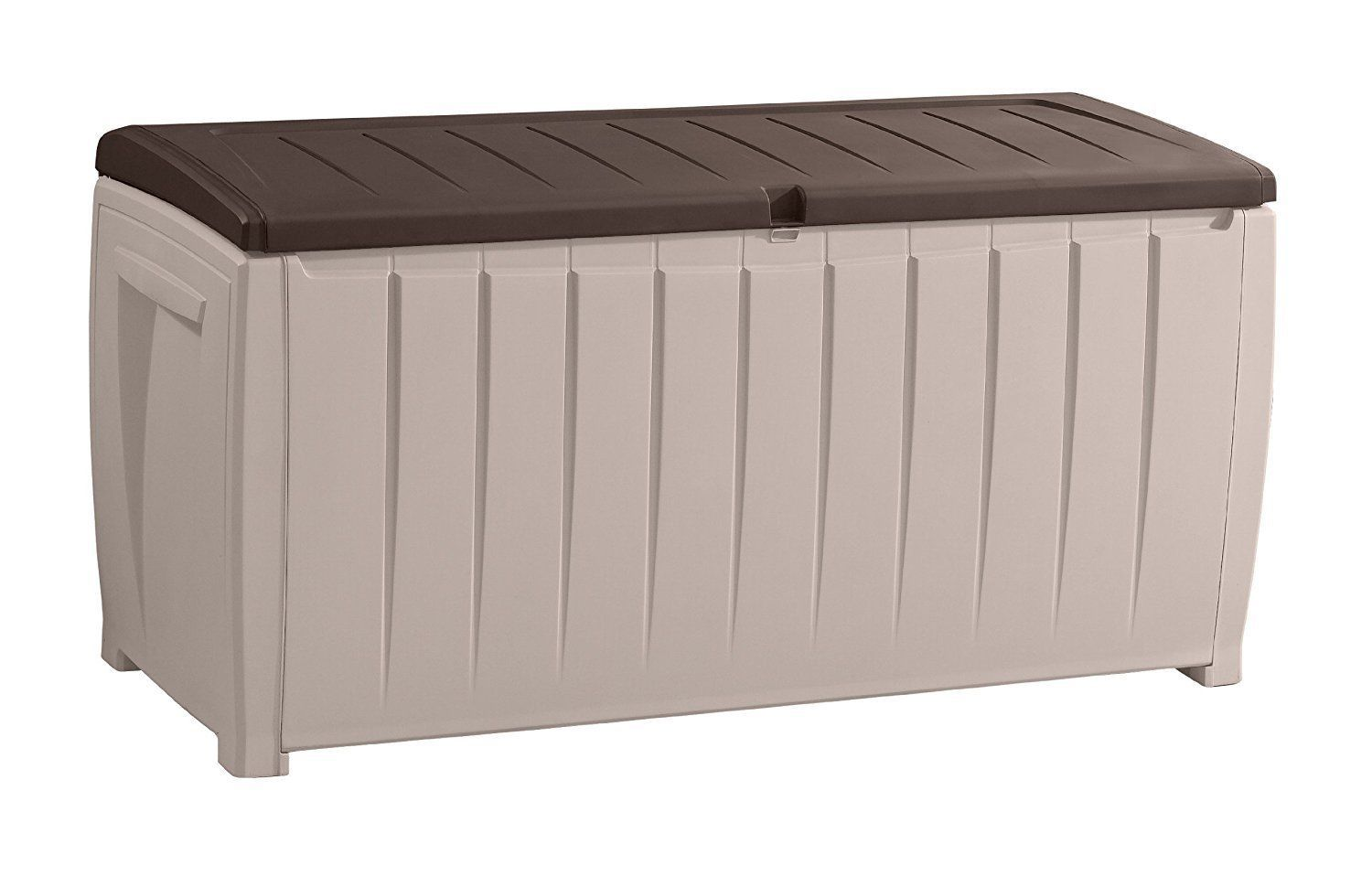 Outdoor Kissenbox Keter Kissenbox Auflagenbox Gartenbox Novel Beige 340l Pinterest