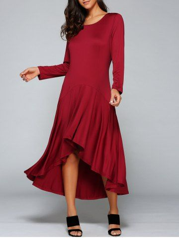 GET $50 NOW | Join RoseGal: Get YOUR $50 NOW!http://www.rosegal.com/long-sleeve-dresses/stylish-round-neck-long-sleeve-825348.html?seid=7225709rg825348