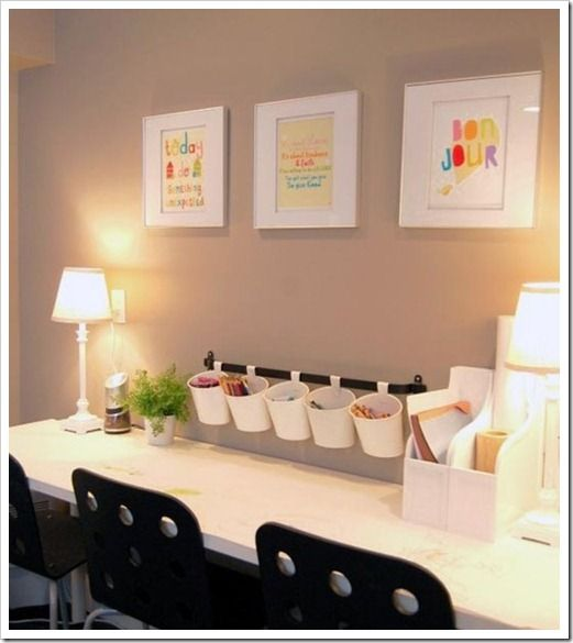 Kids Homework Room Ideas: 15 Homework Station Ideas