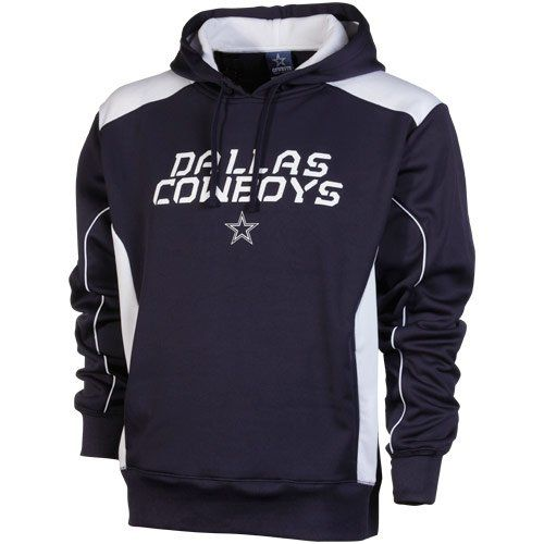 new styles a8a7d b9abb Men's Dallas Cowboys Field Goal Hoodie Navy/White « Clothing ...