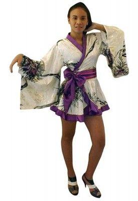 a0a43cfeb White Mini Kimono | OrientaliaM | White kimono, Kimono, Fashion