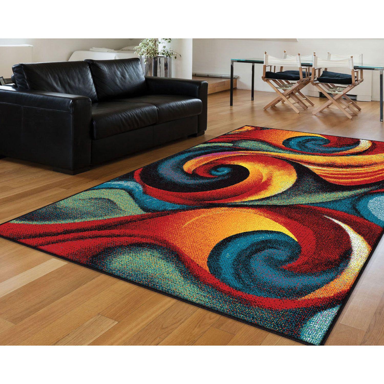 Modern Colorful Rug For Living Room Contemporary Area Rugs Colorful Rugs Modern Colorful Rugs