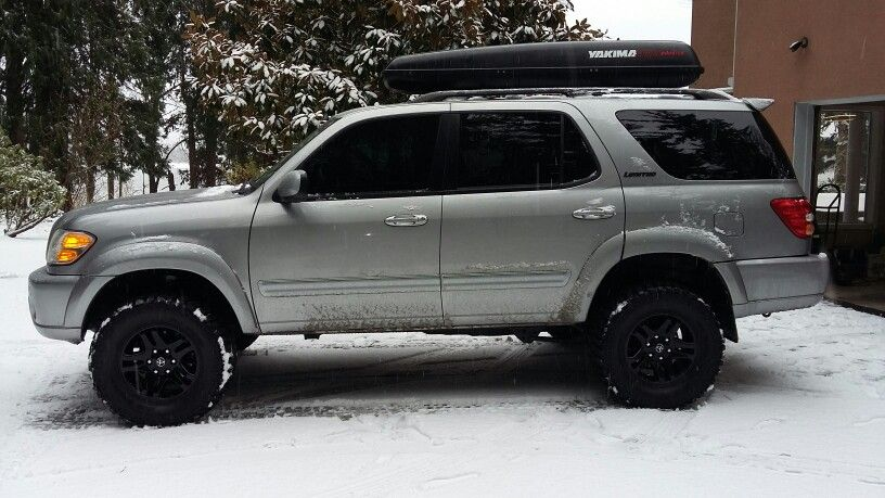 Toyota Large Suv >> Toyota Sequoia 3 Inch Toytec Lift Toyota Toyota Toyota Sequioa