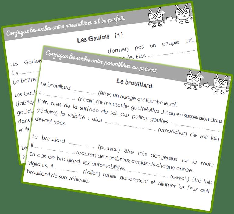 Conjugaison Rituel Ce2 Textes A Trous Ce2 Conjugaison Ce2 Exercice Francais Ce2