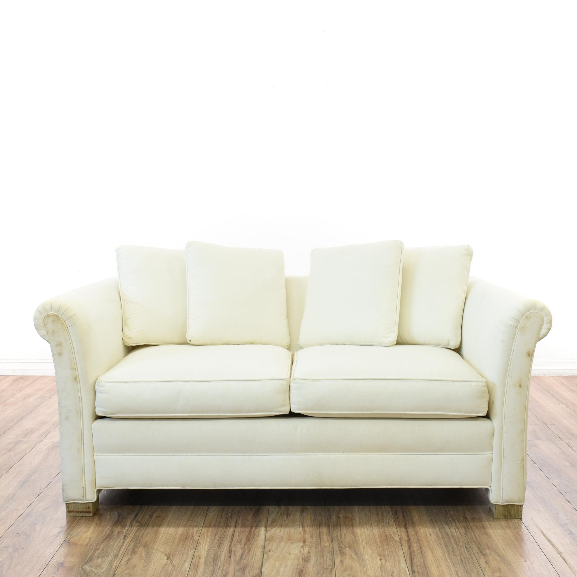 White Loveseat Couch Sofa Couch And Loveseat White Loveseat Love Seat