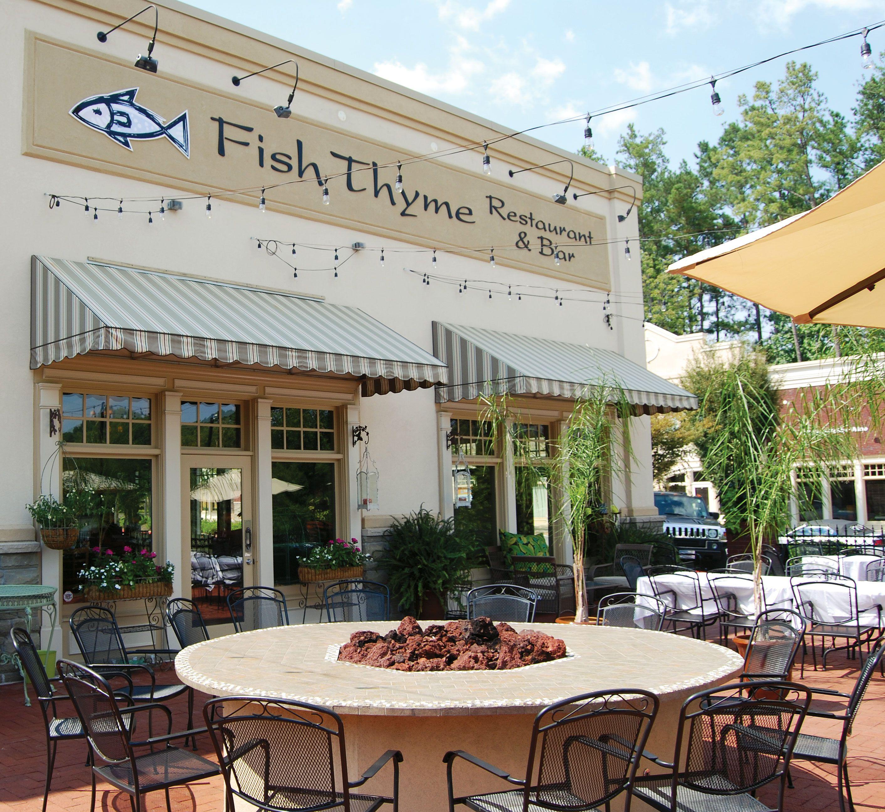 Love Street Acworth GA | Welcome To Fish Thyme Restaurant ...
