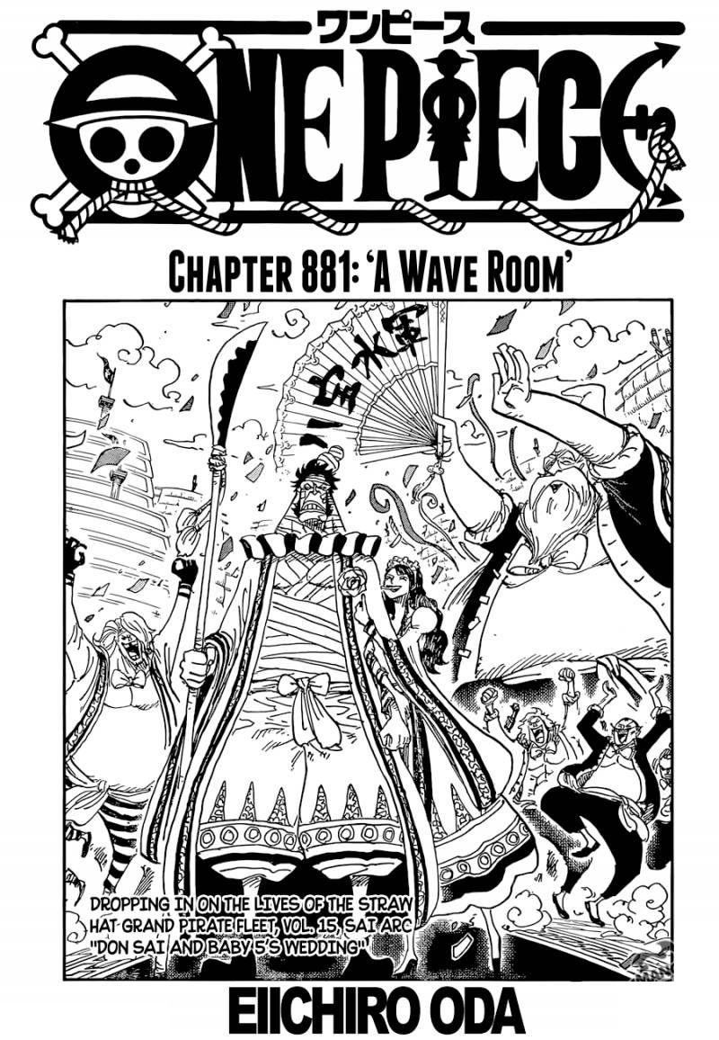 Pin On One Piece 881 Manga Room Of Waves