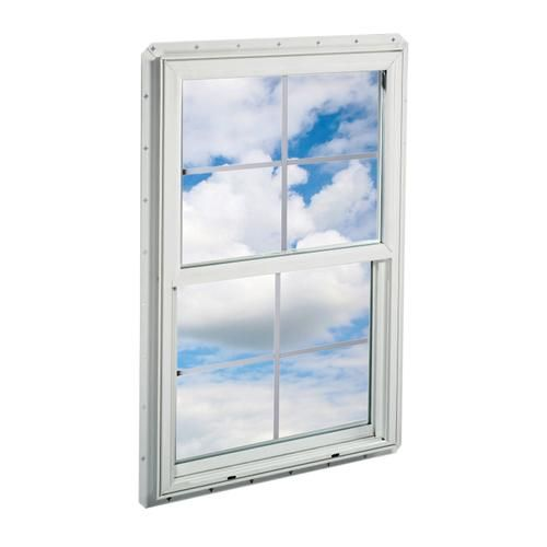 Crestline 36 X 48 Vinyl Single Hung Window With Zo E Shield Glass And Gia At Menards Single Hung Windows Crestline Window Vinyl
