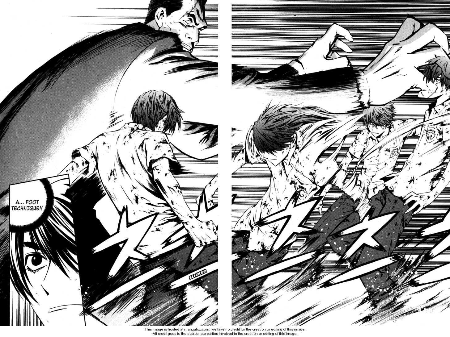 Breaker Speed Scene Manhwa Good Anime Series The Breakers