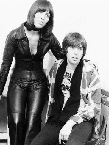 Peter Gabriel with His Wife Jill Photographic Print at eu.art.com