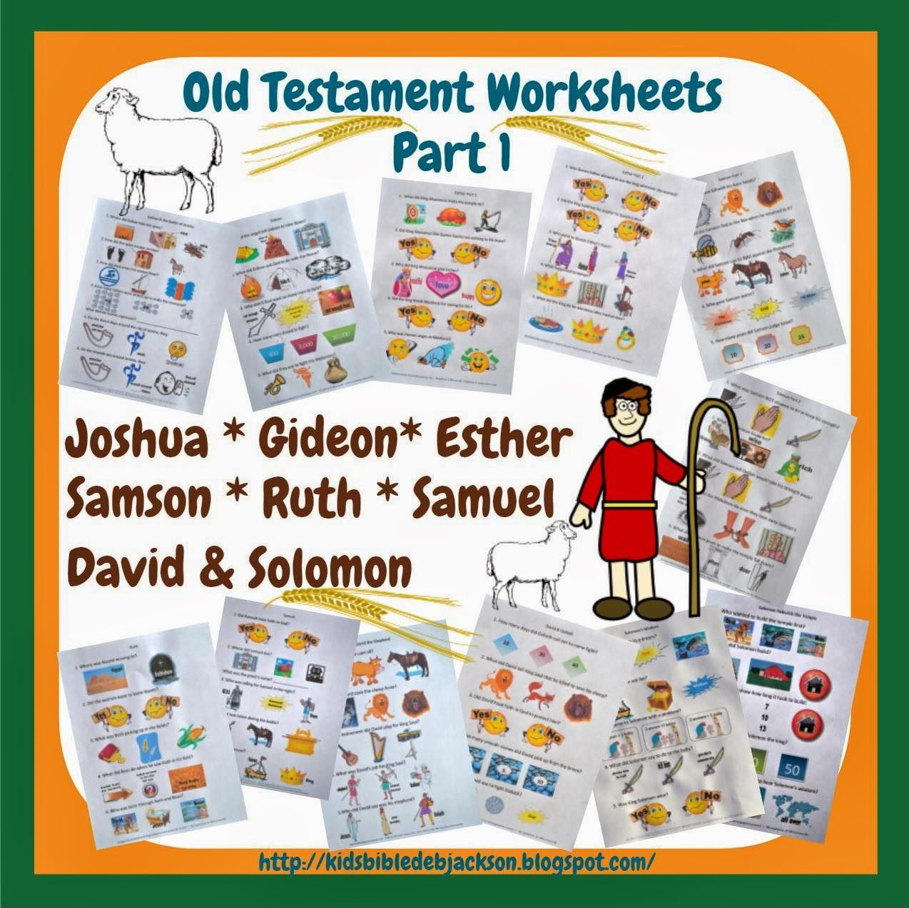 Old Testament People Lesson List Amp Links