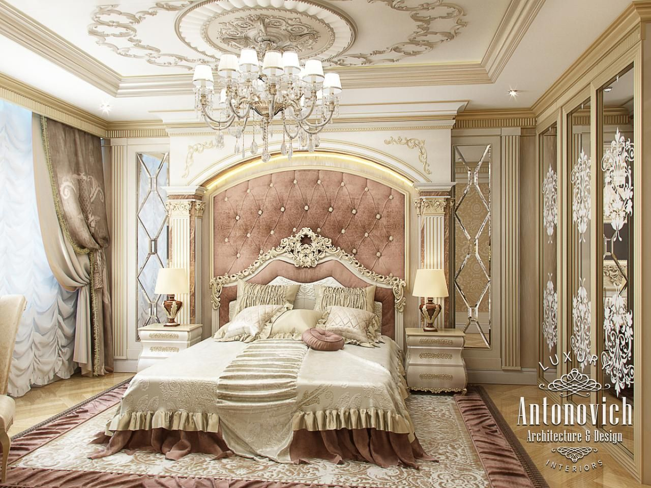 Luxury Master Bedrooms By Famous Interior Designers Luxurious Bedrooms Luxury Bedroom Design Luxury Bedroom Master Luxury master bedroom photo