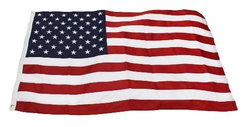 4x6 2 Ply Polyester American Flag Sewn Stripes Embroidered Stars Heading And Grommets Quinn Flags Brand By Qui Outdoor Gardens Outdoor Decor Garden Flags
