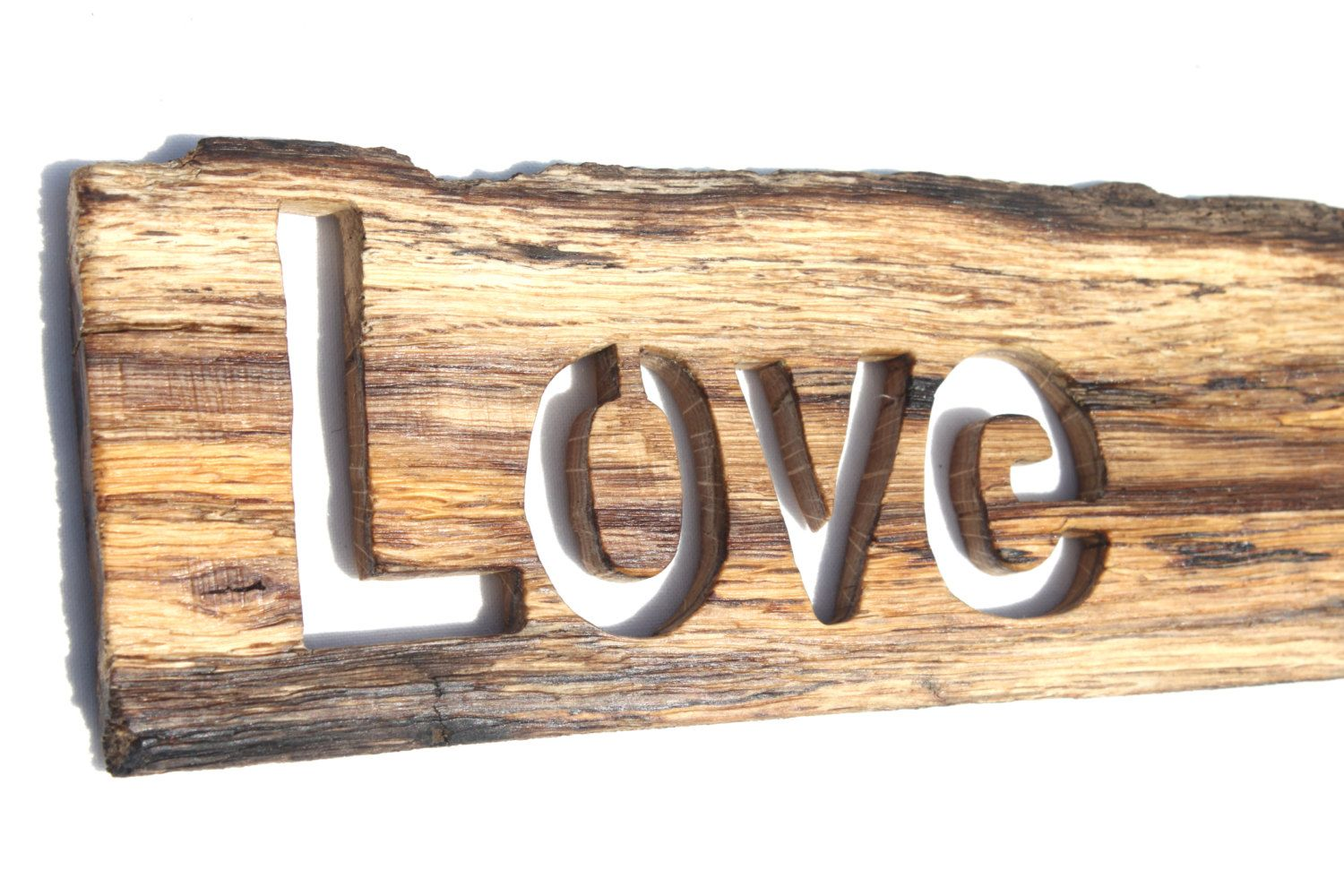 Love Sign, Love Sign, Oak Plank, Wooden Slice, Rustic Tree Slices, Painting  On Wood, Tree Trunk Slice, Wood Sign, Wooden Love Sign, Oak