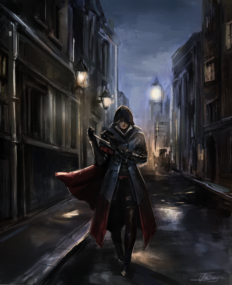 Evie Frye by Josephine-frays