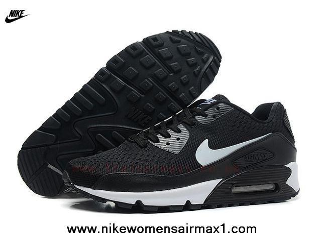 New Nike Store For Air Max 90 Premium EM QS Mens Trainers Black White