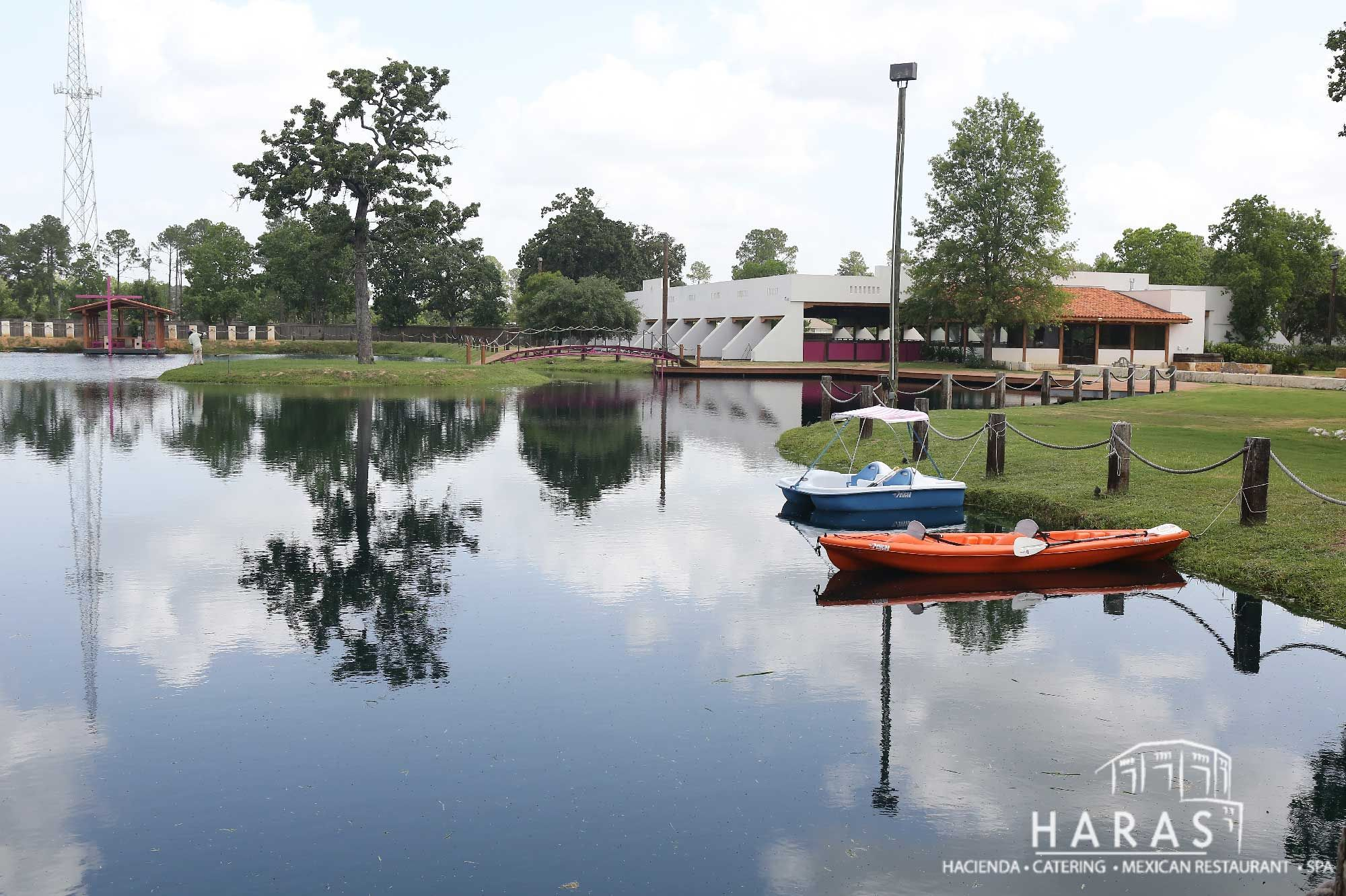 Lake Haras Hacienda Magnolia Texas