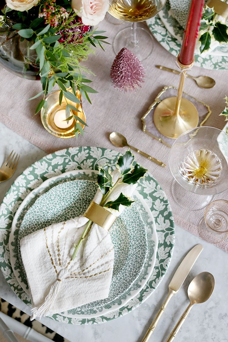 Apparecchiare Tavola In Terrazza my 2018 christmas dinner table setting | dinner table, table