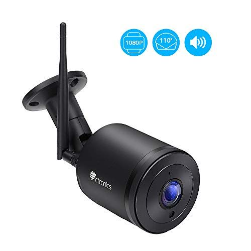 Ctronics Security Camera Outdoor,1080P Wireless IP Surveillance