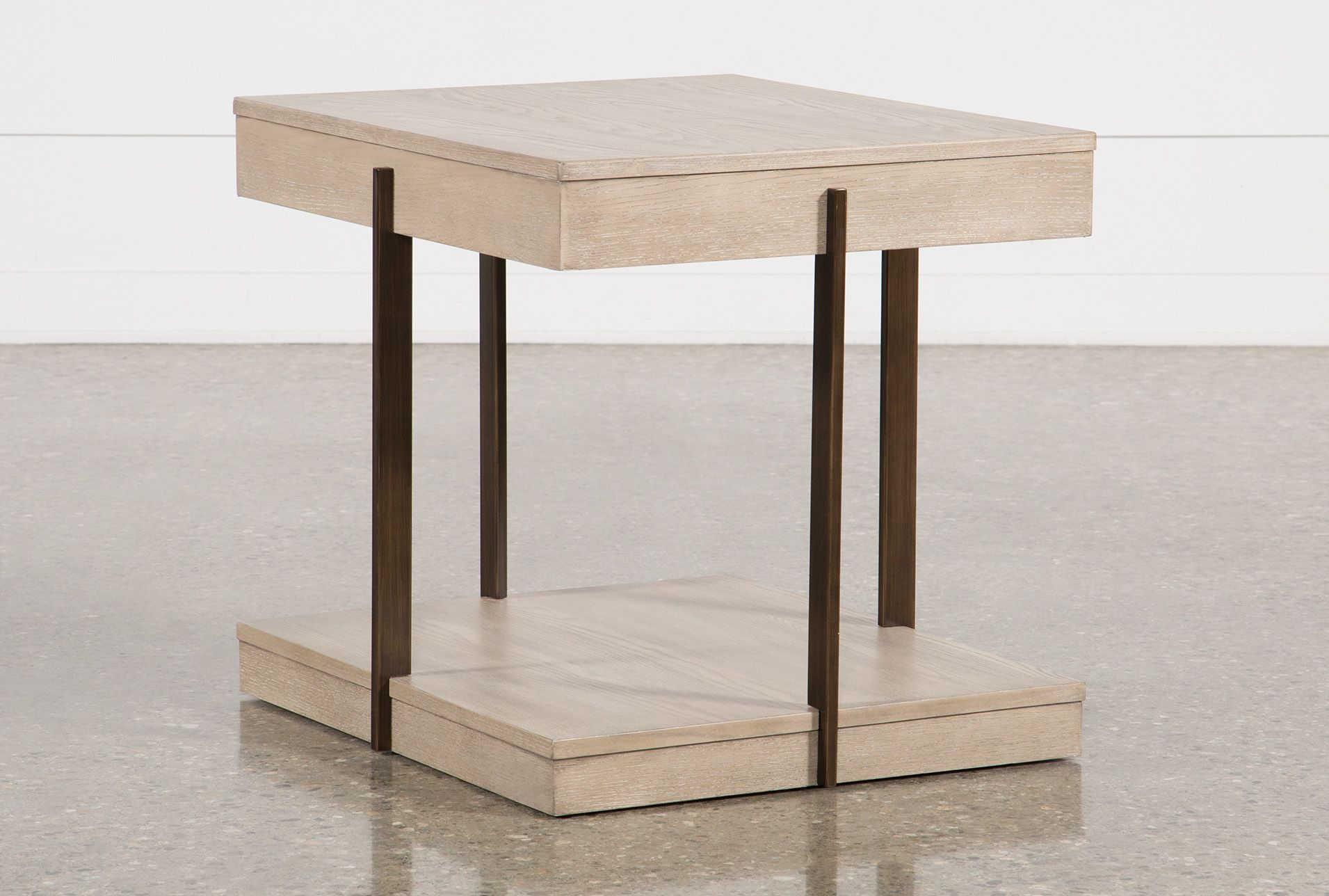 Pierce Natural End Table End Tables Living Room Essentials