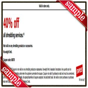 photograph about Staple Printable Coupons identified as Staples Printable Coupon December 2016 Printable Correct