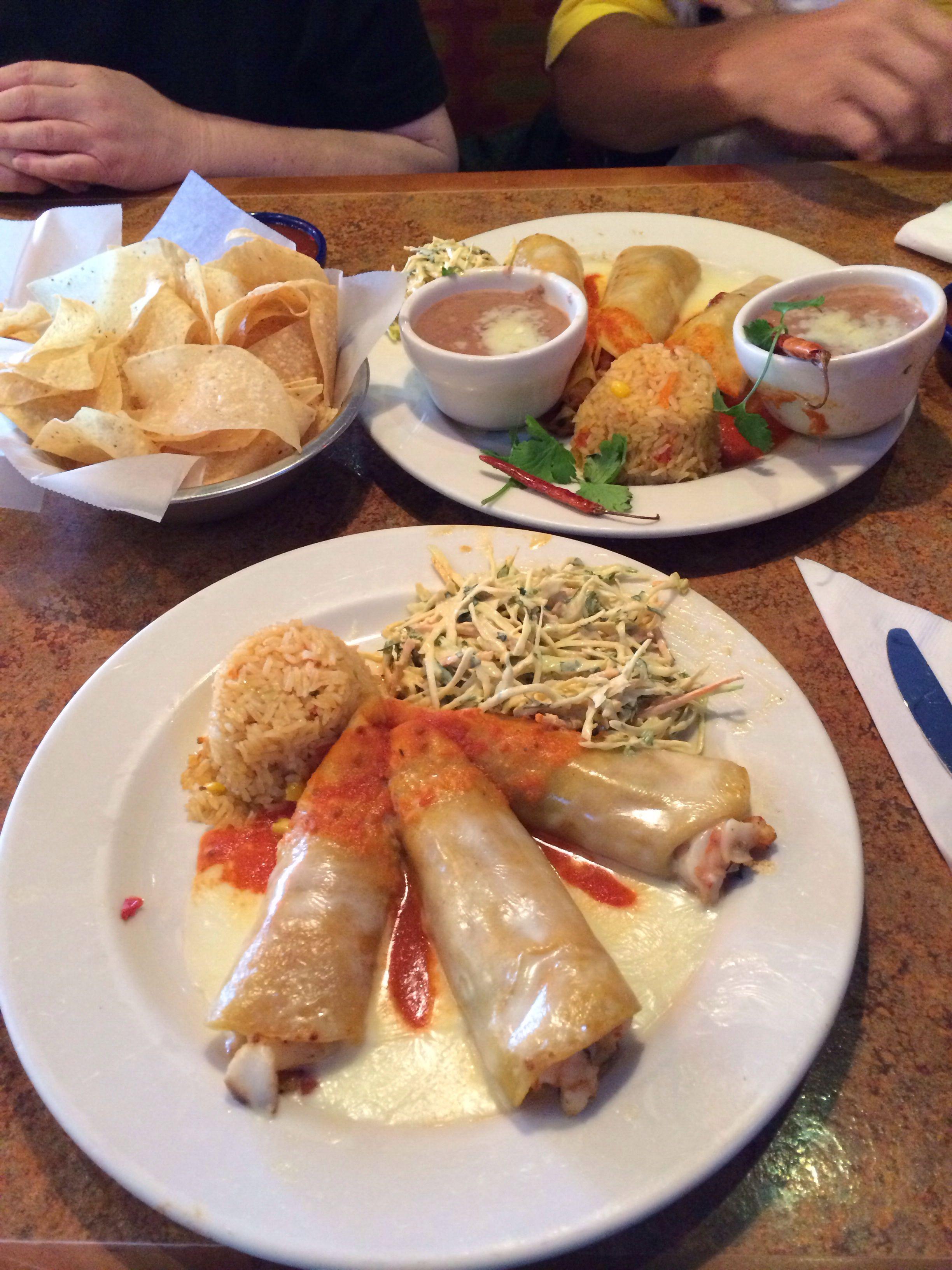 El Parrilla Mexican Restaurant In Savannah Georgia Some Of The